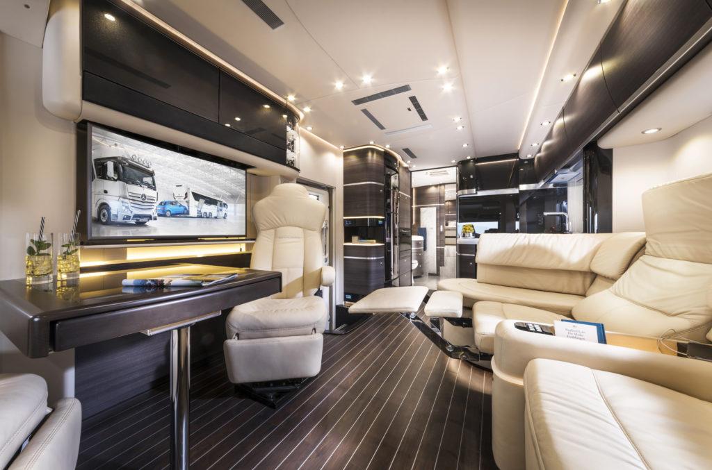 Luxuriöse Ausstattung bei Concorde